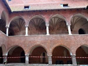 Krużganki Zamek w Lidzbarku