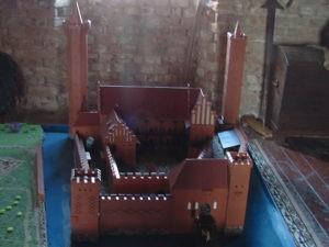 Makieta dawnego zamku
