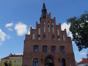 Gotycki ratusz w Morągu