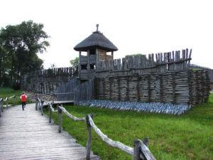 Wejście do osady