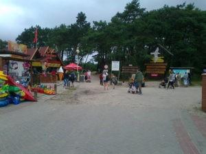 Na prawo do Parku, na lewo na plażę