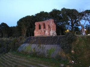 Ruiny kościoła - Trzęsacz