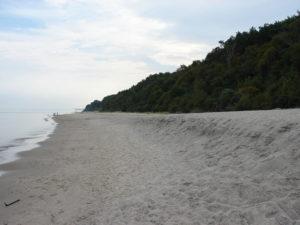 Wzdłuż morza :)